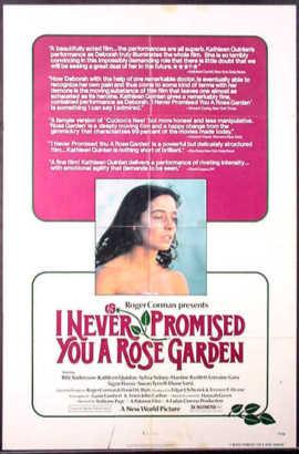 I Never Promised You a Rose Garden - Filmhuis Lisse